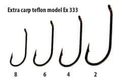 Extra Carp háčky teflon série  EX 333   ( 10ks v balení)