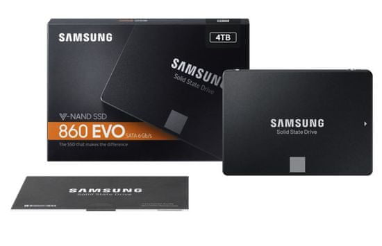 "Samsung SSD disk 860 EVO 4 TB, 6,35 cm (2,5""), SATA III"