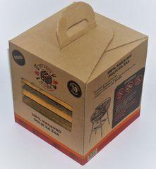 BBQ kocka za hitro pripravo žara