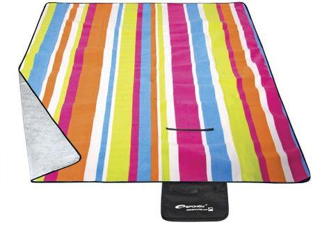 Spokey koc piknikowy Picnic Rainbow 180x210