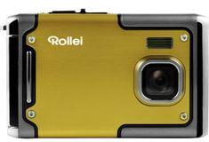 Rollei digitalni fotoaparat Sportsline 85, podvodni, rumen