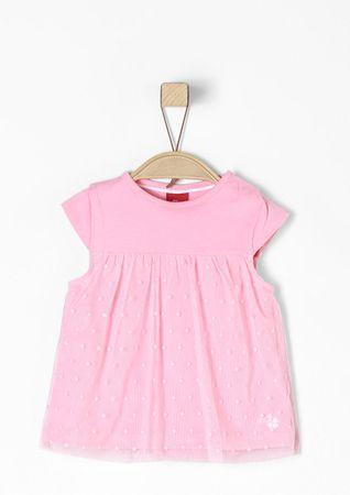 s.Oliver lány póló 74 rózsaszín