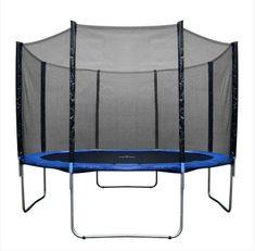 Mijump trampolin z mrežo in lestvijo, 366 cm