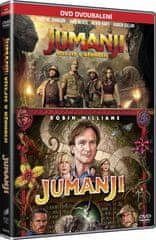 Jumanji kolekce:  Jumanji (1995) + Jumanji: Vítejte v džungli (2DVD)   - DVD