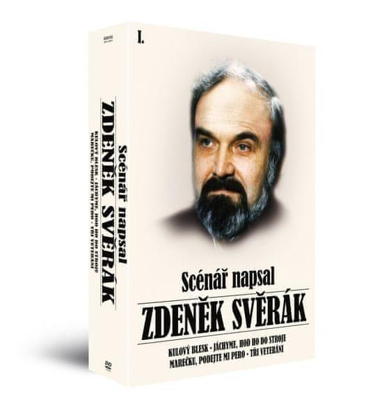 """Kolekce """"Scénář napsal Zdeněk Svěrák"""" (4DVD) - DVD"""