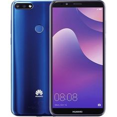 Huawei Y7 Prime 2018, DualSIM, Blue mobiltelefon