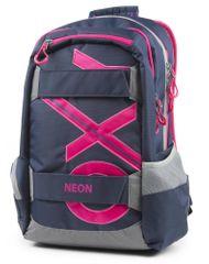 Karton P+P Anatomický batoh OXY SPORT Blue line Pink
