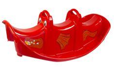 Mochtoys otroški plastični gugalnik, rdeč