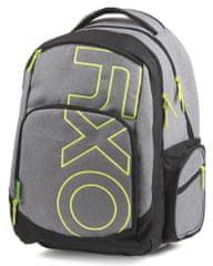 Karton P+P Anatómikus hátizsák OXY Style GREY LINE Green 3d86941f29