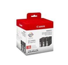 Canon set od tri tinte PGI-2500XL BK, crne