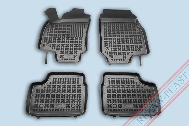 REZAW-PLAST Gumové koberce, sada 4 ks (2x přední, 2x zadní), Opel Astra II G 1998-2009, Opel Astra III H 2004-2014