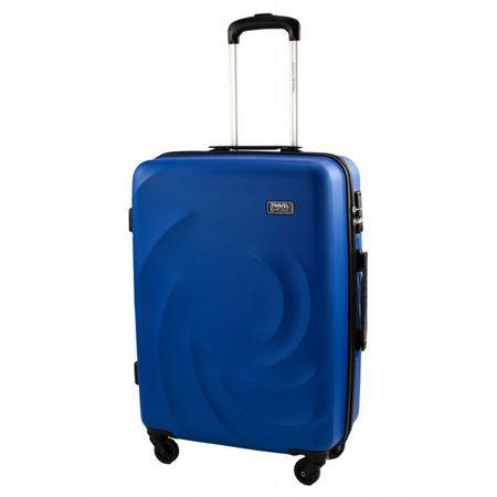 Travel and More potovalni kovček, srednji, 59 l, moder