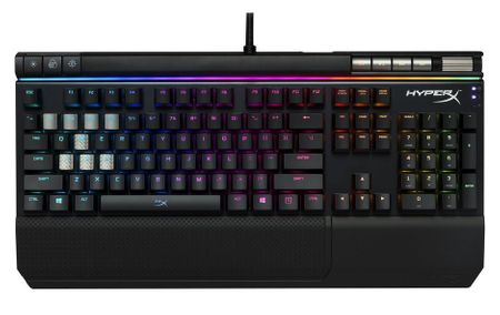 Kingston gaming tipkovnica Hyperx Alloy Elite, RGB, Cherry MX Red