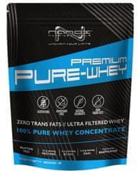 Nanox sirotkine beljakovine Premium Pure Whey, nutela/lešnik, 2000 g