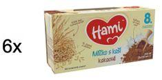 Hami Mlíčko s kaší kakaové - 6x (2x250 ml)