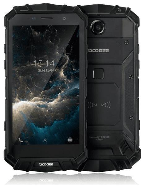Doogee S60 Lite, 4GB/32 GB, DualSIM, CZ LTE, černý