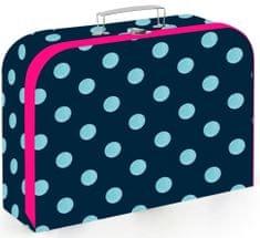 Karton P+P Romantic Nature Dots mintázatú bőrönd lamino 34 cm