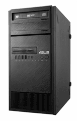 Asus namizni računalnik WS ESC300 G4-7500003Z i5-7500/8G/SSD128G+1TB/GTX1060/FreeDOS (ASS-ESC300G47500003Z)