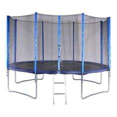 Spartan trampolin z mrežo in lestvijo, 396 cm