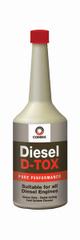 COMMA Čistič spalovacího systému v dieselových motorech DIESEL D-TOX, 400 ml