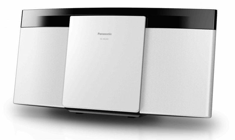 Panasonic SC-HC200EG-W, bílá