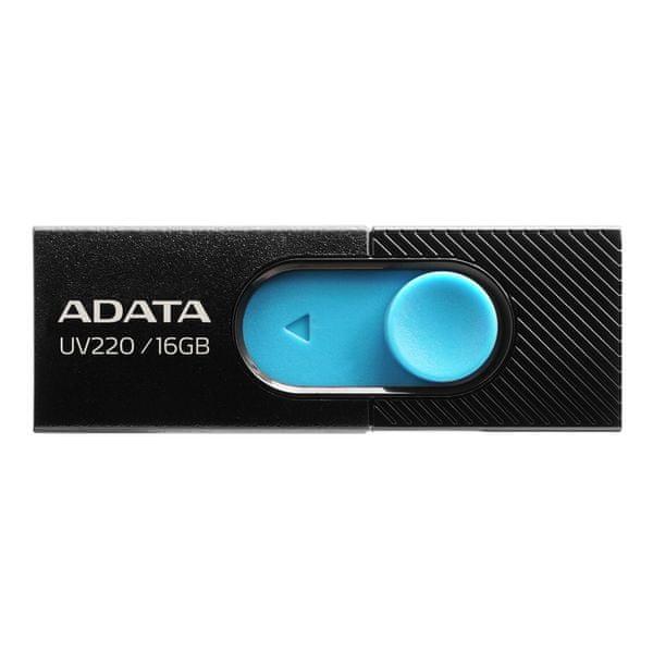 Adata Flash Disk 16GB USB 2.0 (AUV220-16G-RBKBL)