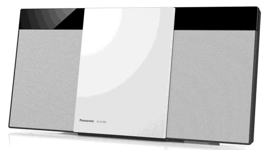 Panasonic SC-HC300EG, bílá