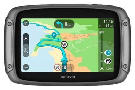 TomTom Rider 420 EU - LIFETIME Európa térkép  örökös frissítése