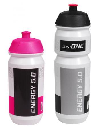 Just One zestaw butelek Energy 5.0 set 1+1, różowa i czarna