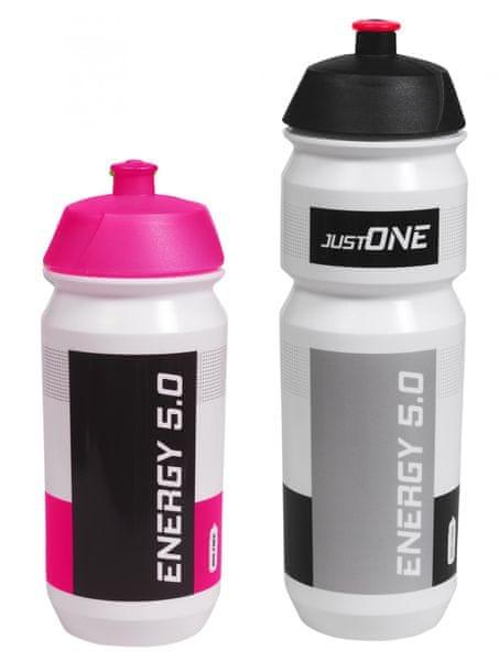 Just One Energy 5.0 set 1+1 růžová/černá