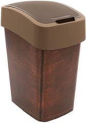 CURVER Kosz na śmieci Flipbin 25 l Leather