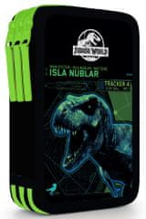 Karton P+P Penál 3 patrový Jurassic World