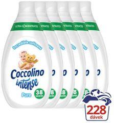 Coccolino Intense Pure aviváž 6 x 570 ml (228 praní)