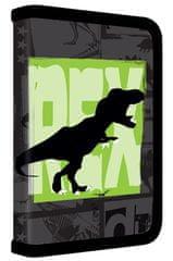 Karton P+P Školní penál 1 patrový T-rex plný