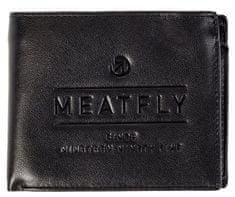 MEATFLY muški novčanik Seaway, crni