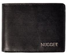 Nugget moška denarnica Attitute, črna
