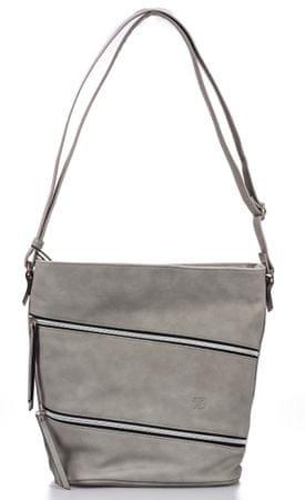 Tom Tailor ženska ročna torbica Romina, siva