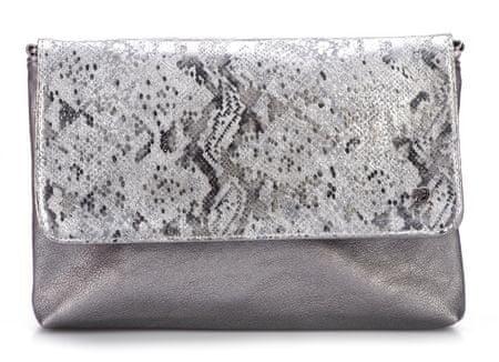 Tom Tailor ženska ročna torbica Mila VIP, srebrna