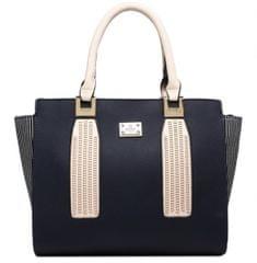 Bessie London torbica, temno modra