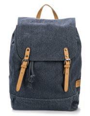 Tom Tailor pánský tmavě modrý batoh Max