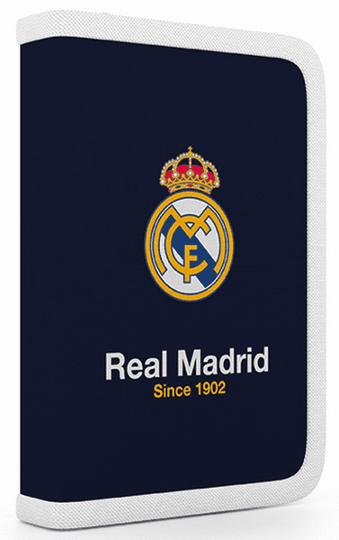 Karton P+P Penál 1 patrový 2 klopy Real Madrid