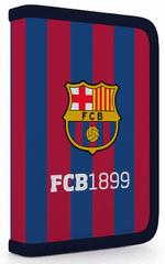 Karton P+P piórnik szkolny jednopiętrowy FC Barcelona