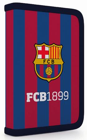 Karton P+P Penál 1 patrový 2 klopy FC Barcelona
