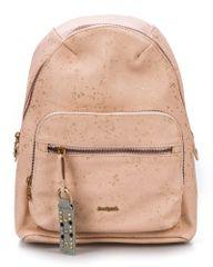 Desigual ženski ruksak roza Metallic Splatter