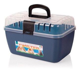 Tommi Transportní přepravka pro hlodavce modrá