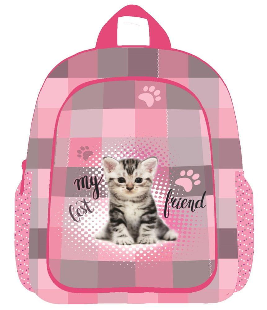Karton P+P Dětský předškolní Batoh Kočka