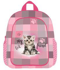 Karton P+P Detský predškolský Batoh Mačka