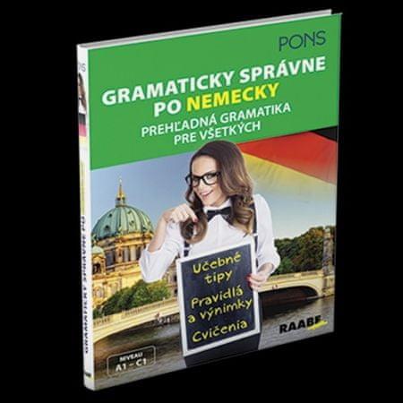 Hauschild Alke: Gramaticky správne po nemecky(Pons)prehľadná gramatika pre všetkých