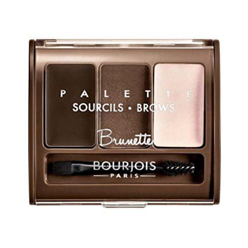 Bourjois Paletka na úpravu obočí (Brow Palette) 4,5 g (Odstín 002 Brunette)