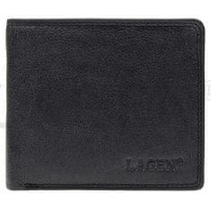 Lagen Pánská kožená peněženka 1154 Black
